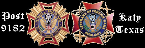 Katy VFW Post 9182 & Auxiliary