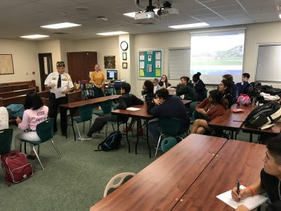 10-25-2018 Miller Career & Technology Center VFW in the Classroom-003